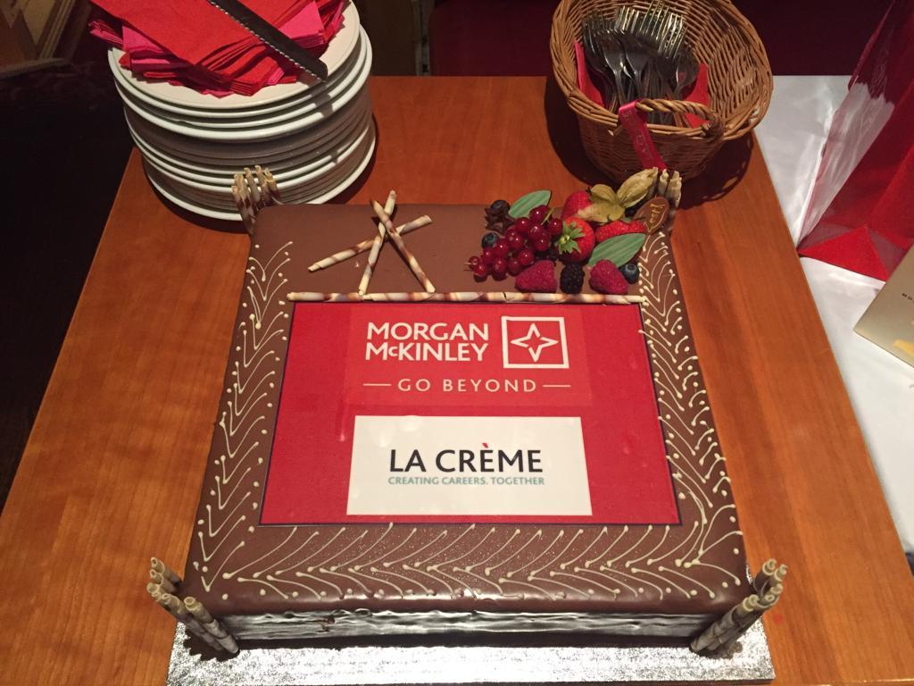 Morgan McKinley and La Creme Summer BBQ