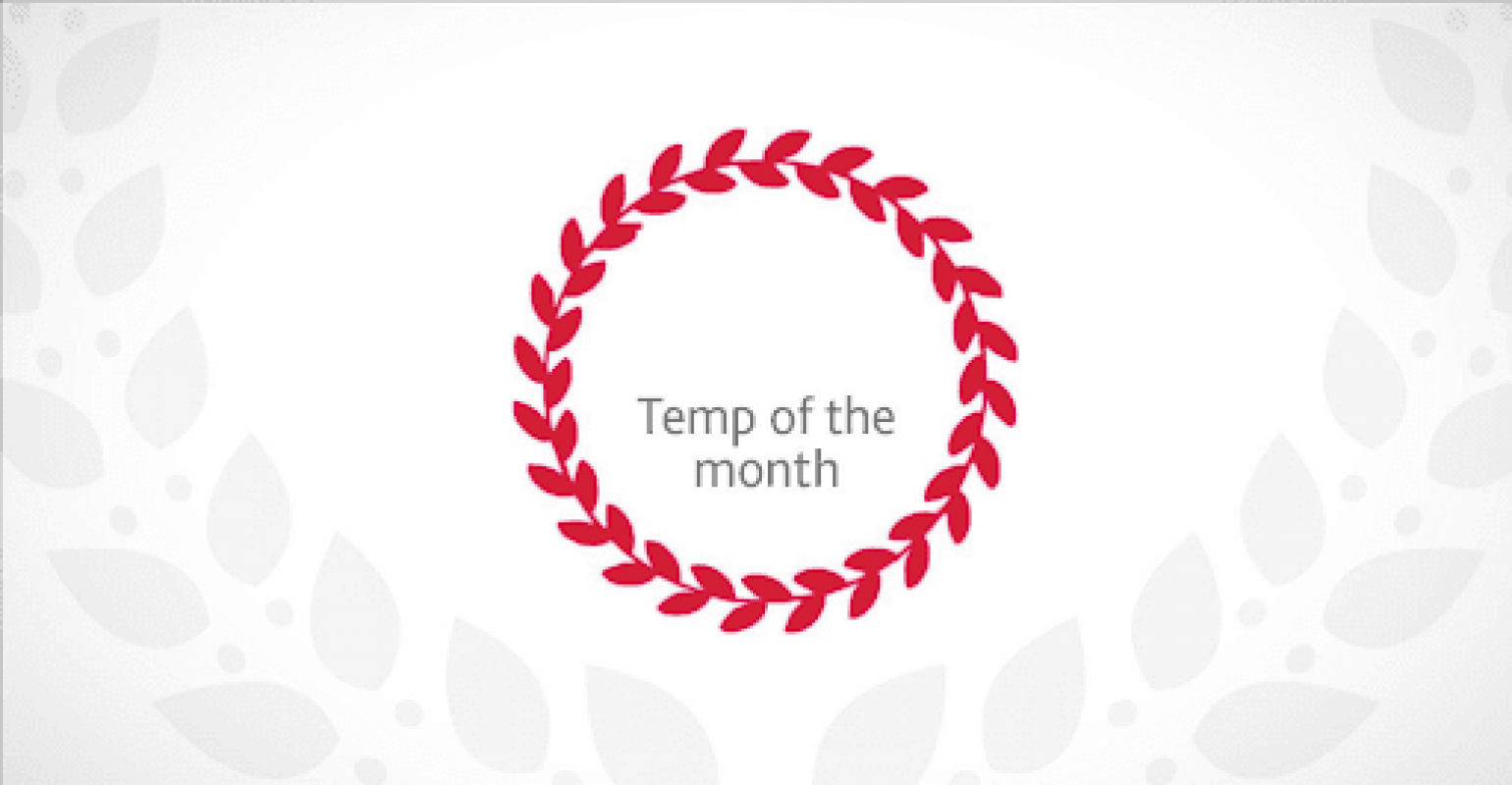 Temp of the Month - May 2019