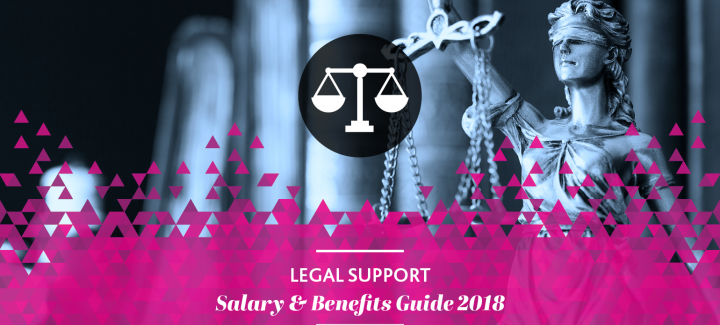 2018 Legal support Salary & Benefits Guide