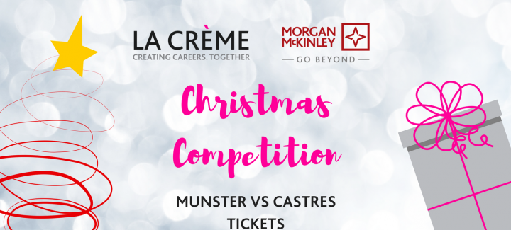 Christmas competition with a wonderful winning prize of two tickets to Munster v Castres in Thomond Park